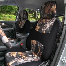 fb059 brown hunting camo seat cover 1