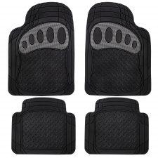 F11310 carbon gray rubber floor mats